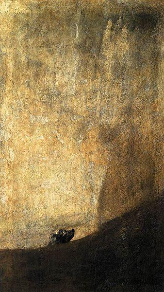 Francisco de Goya Cabeza de perro