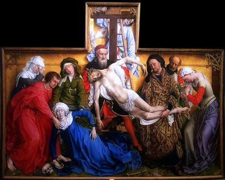 Roger van der Weyden El Descendimiento