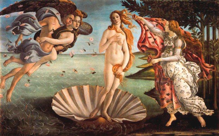 Botticelli Nacimiento-de-Venus