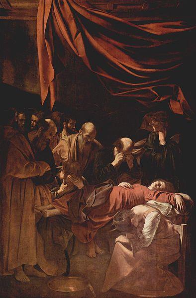 Caravaggio Muerte de la Virgen