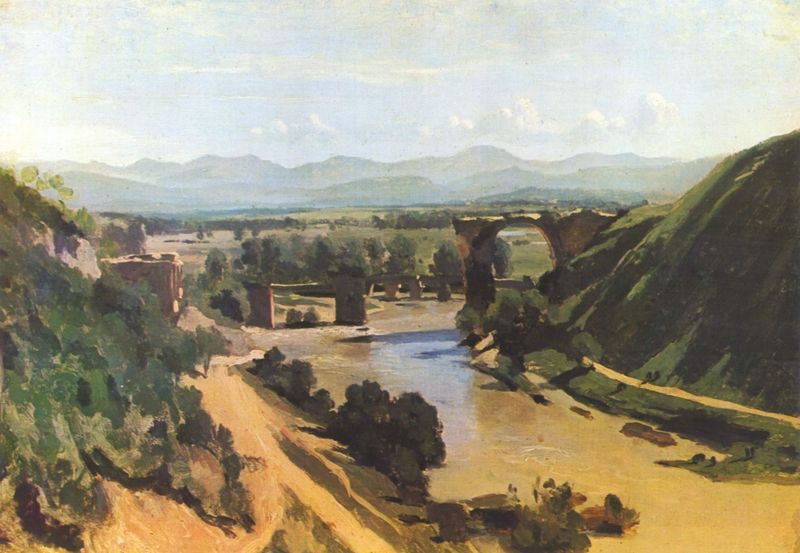 Corot Puente de Narni