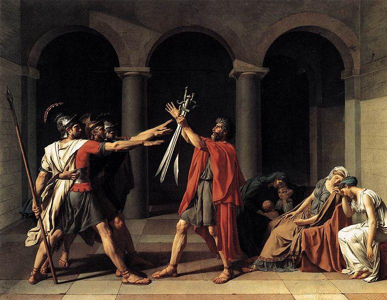 David Juramento de los Horacios