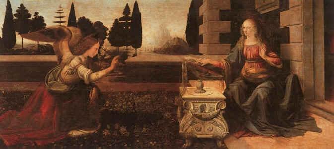 Leonardo la Anunciación