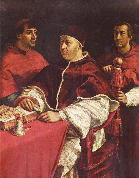 Rafael Retrato de León X