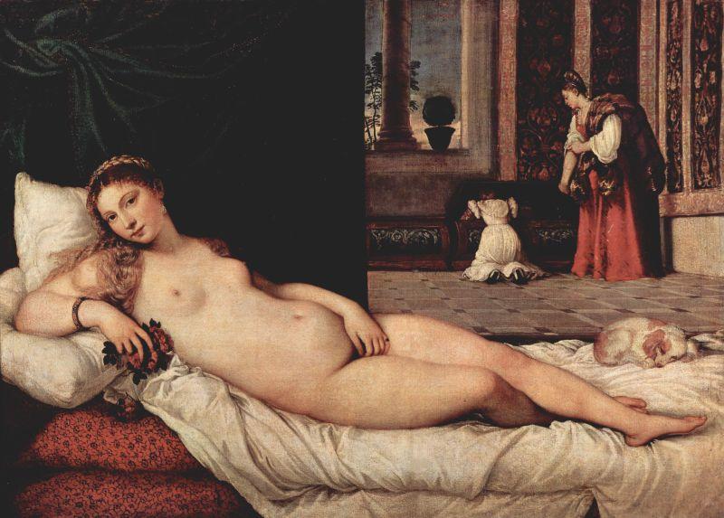 Tiziano Venus de Urbino