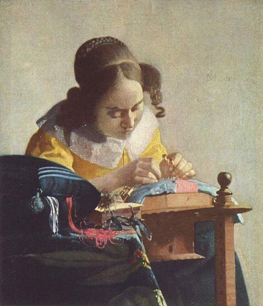 Vermeer La encajera