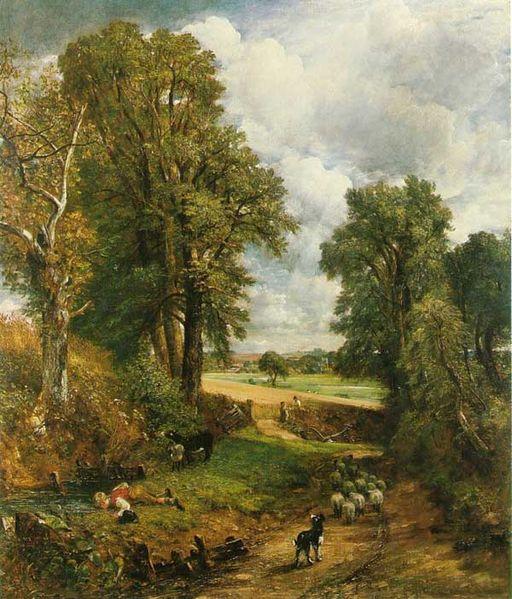 Constable El maizal