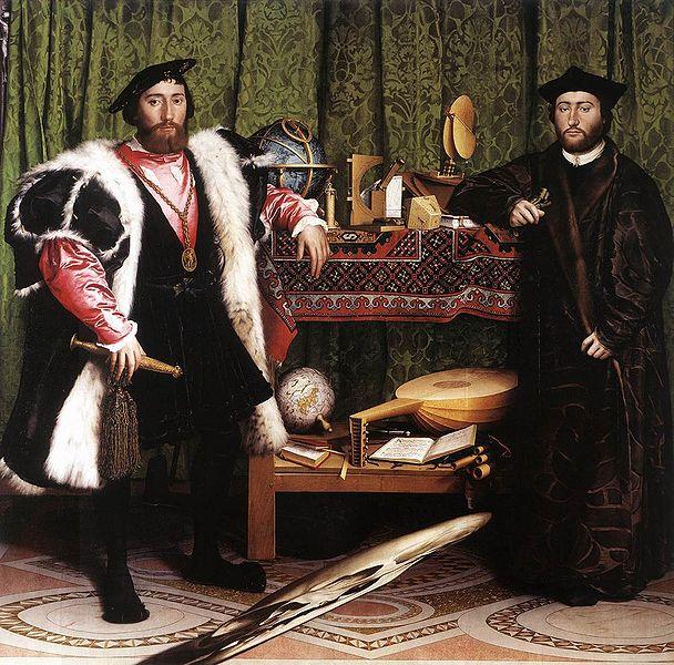 Hans Holbein Los embajadores