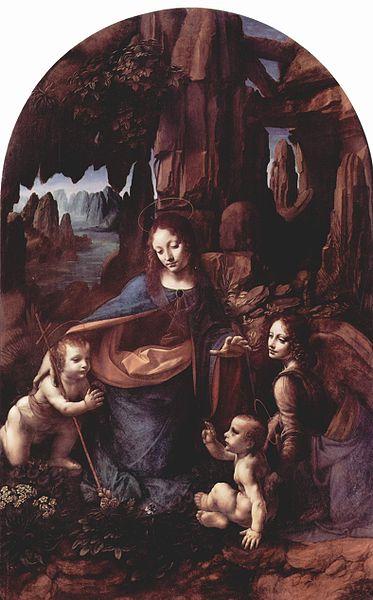 Leonardo Virgen de las rocas