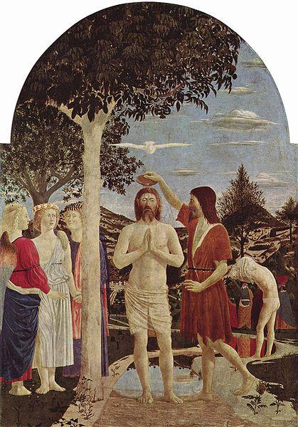 Piero_della_Francesca Bautismo de Cristo