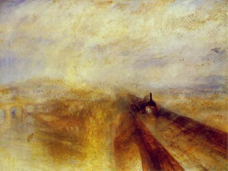 Turner Lluvia, vapor y velocidad