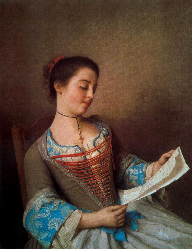 Liotard La bella lectora
