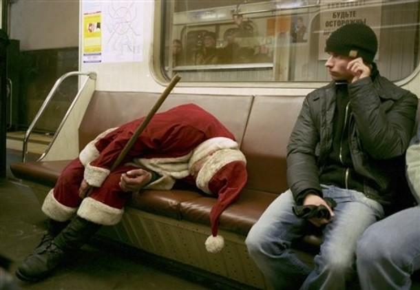 Santa Claus... :O Papa-noel-borracho