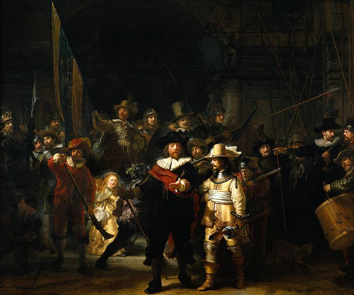 Rembrandt La ronda de noche