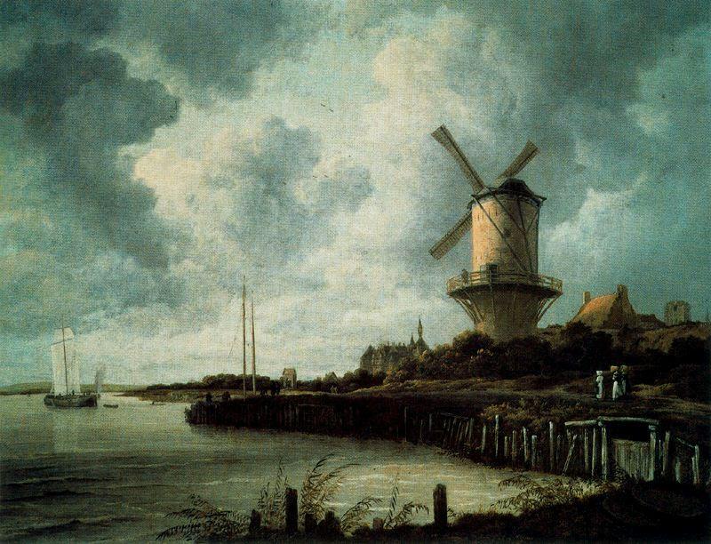 Ruysdael El molino ded Wijck