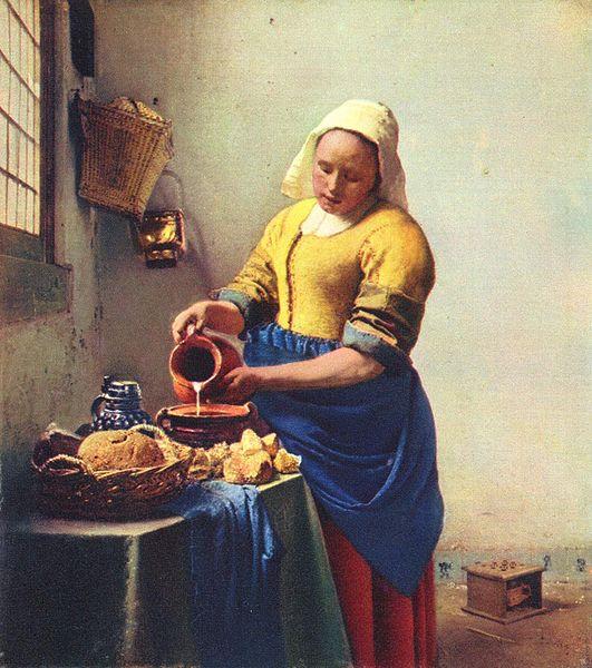 Vermeer La lechera