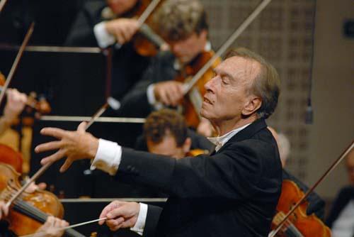 Claudio Abbado y la Filarmónica de Berlín: ¡Qué pedazo de orquesta y qué pedazo de director!