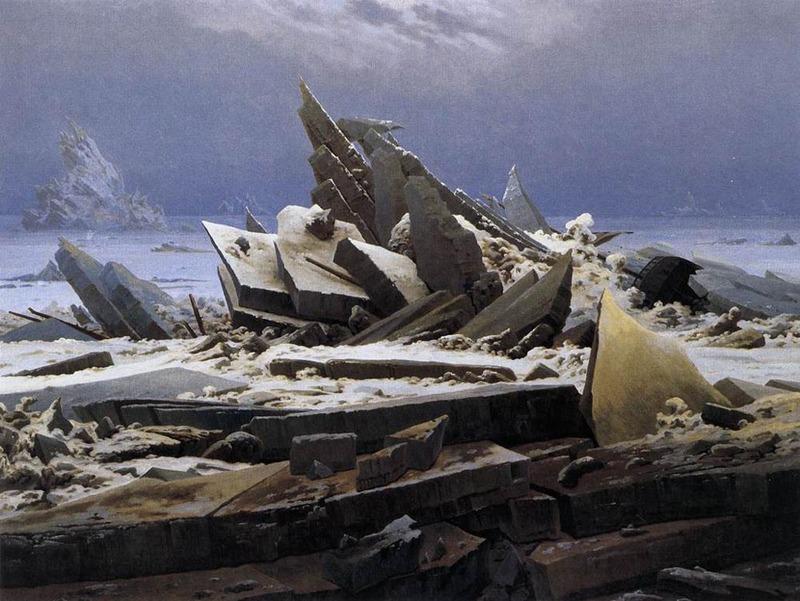 El Mar de Hielo – Caspar-David Friedrich