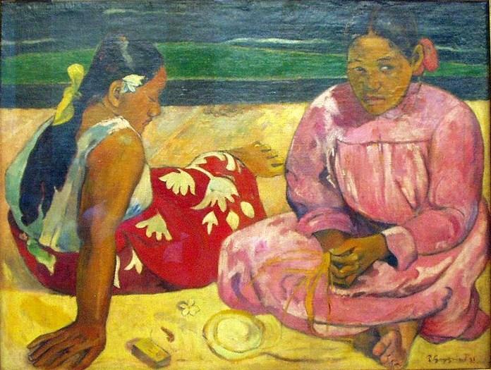 Gauguin Mujeres de Tahití, Museo de Orsay