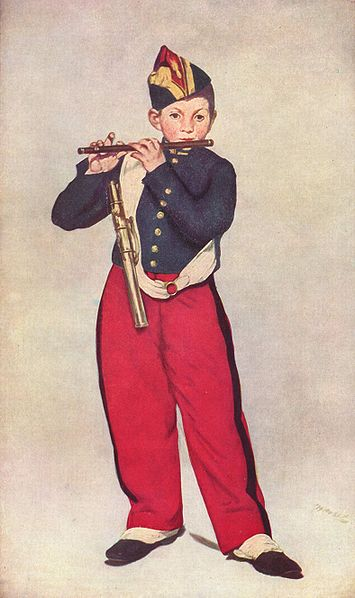 Manet El pífano del regimiento, Museo de Orsay