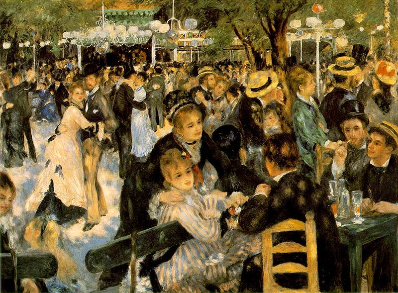 Renoir Le moulin de la Gallete