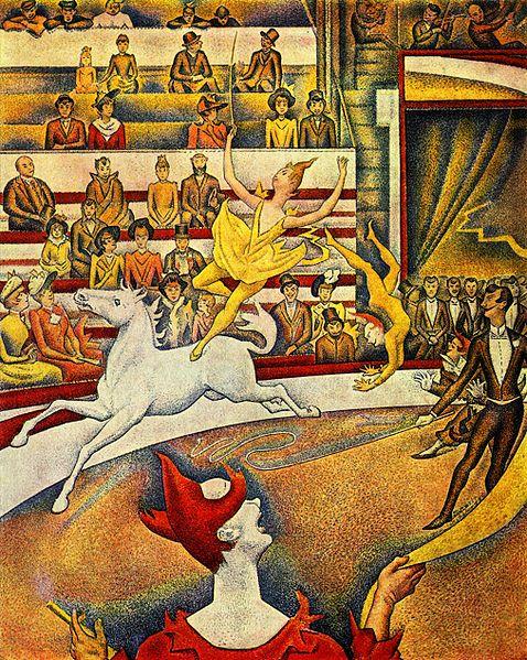 Seurat El circo, Museo de Orsay