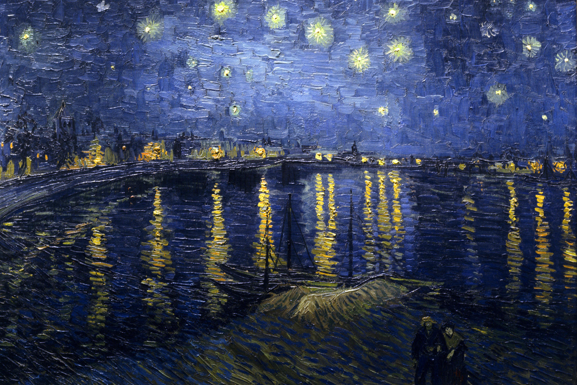 Van Gogh - Noche estrellada, Museo de Orsay