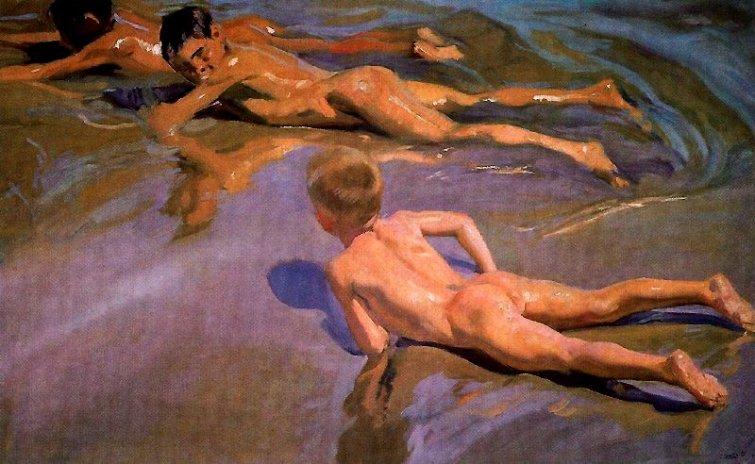 Joaquín Sorolla, Niños en la arena