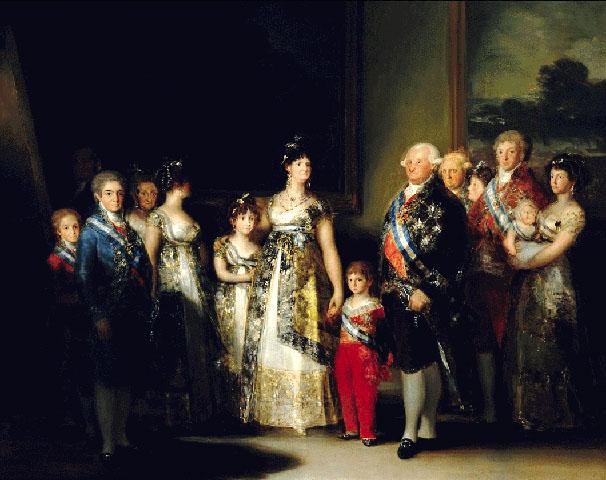 La Familia de Carlos IV - Francisco de Goya