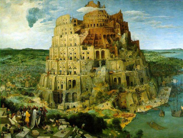 TORRE DE BABEL de Pieter Bruegel el Viejo