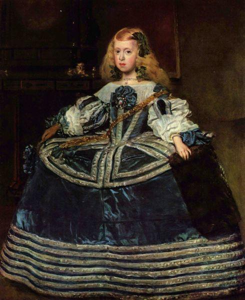 LA INFANTA MARGARITA de Diego Velázquez