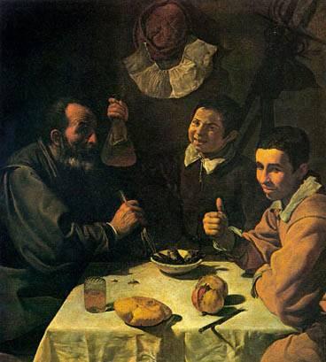 El almuerzo Velázquez