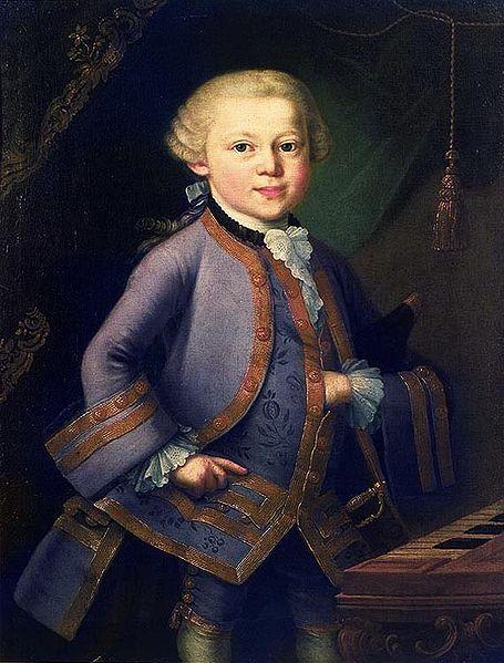 Mozart en 1763