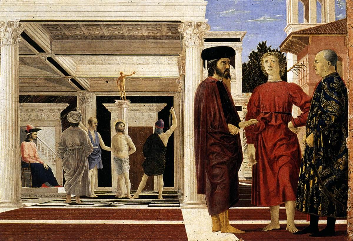Piero della Francesca flagelación