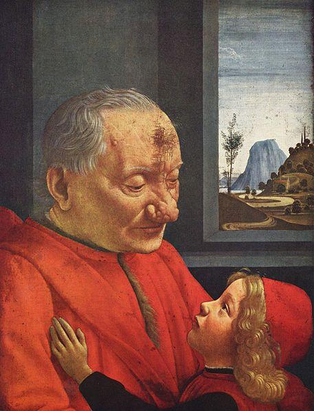 Viejo con su nieto – Domenico Ghirlandaio