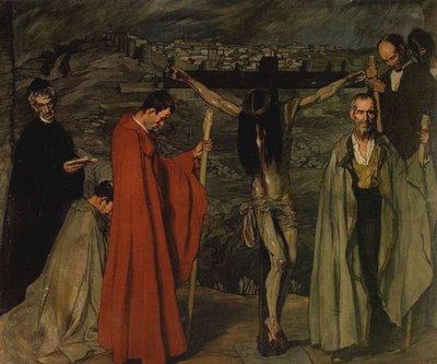 Zuloaga cristo de la sangre