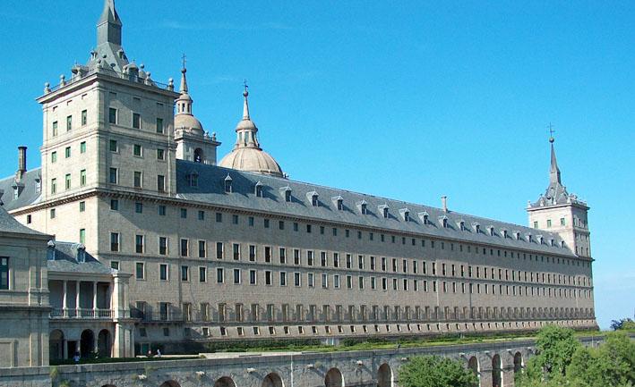 El Escorial fachada sur