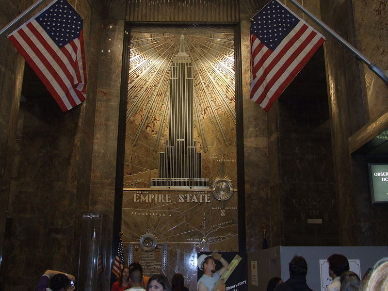Empire vestibulo