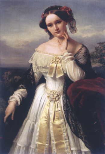 Mathilde Wesendonck en 1850