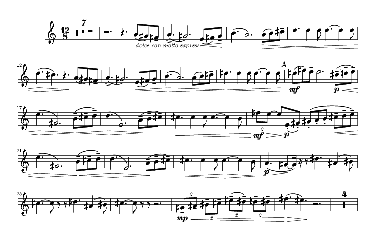 Sólo de trompa arranque 5 Chaikovski