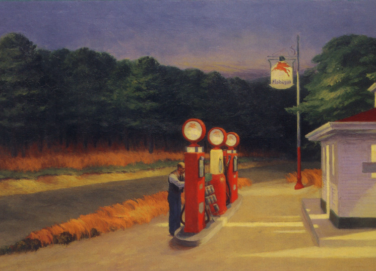 Edward hopper Gas station