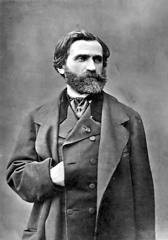 Giuseppe Verdi hacia 1850