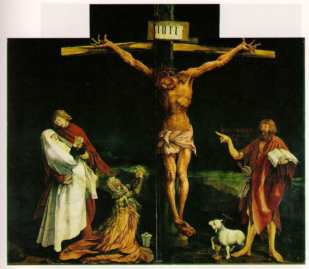 Grunewald la Crucifixion