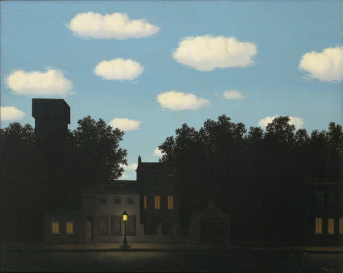 Magritte Empire of lights II