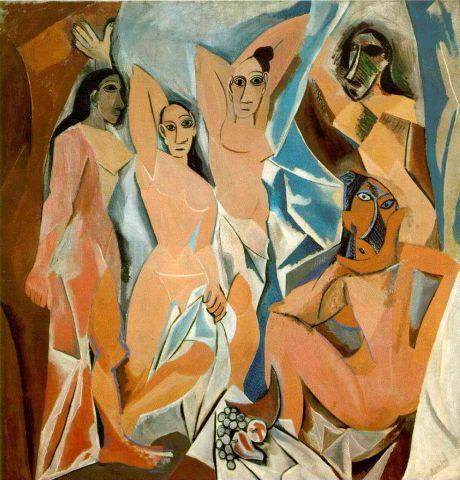 Pablo picasso Señoritas de Avignon