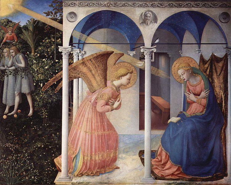 Anunciacion Fra Angélico