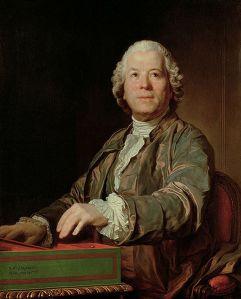 Gluck retratado en 1772