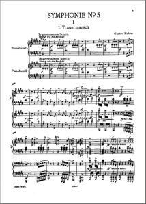 Quinta de Mahler (Version dos pianos)