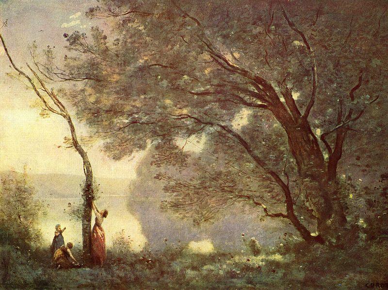 Recuerdo de Mortefontaine Corot