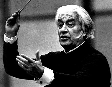 gesticulación del director de orquesta